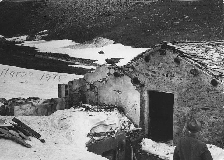 """1975 """"Maroz Dora"""": cascine distrutte dalla slavina"""