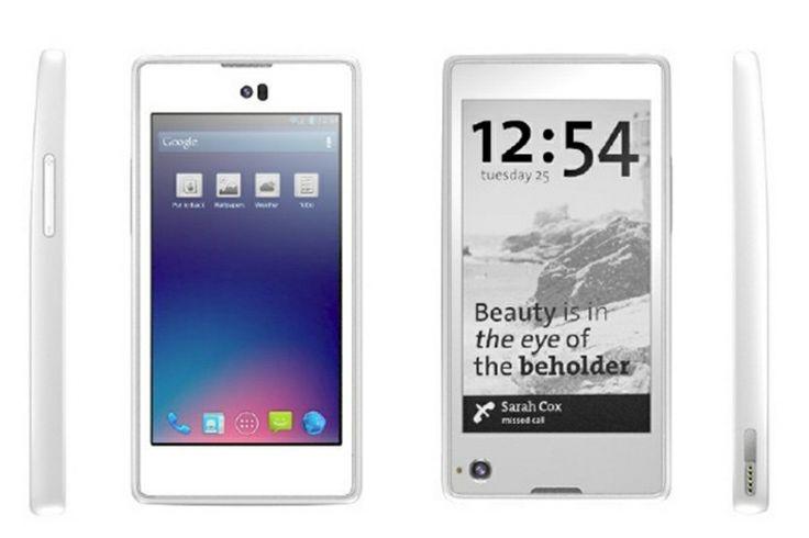 Fabricante russa lança celular de duas telas http://oesta.do/190VS8K