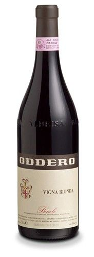 Barolo Vigna Rionda DOCG 2005 – Oddero – Piemonte Ruby red colour with Garnet, in the nose has echoes of tobacco, undergrowth, tea leaves, liquorice, with pleasant shades of chassis. Powerful tannins and bold, beautifully soft, enveloping and long in the mouth.