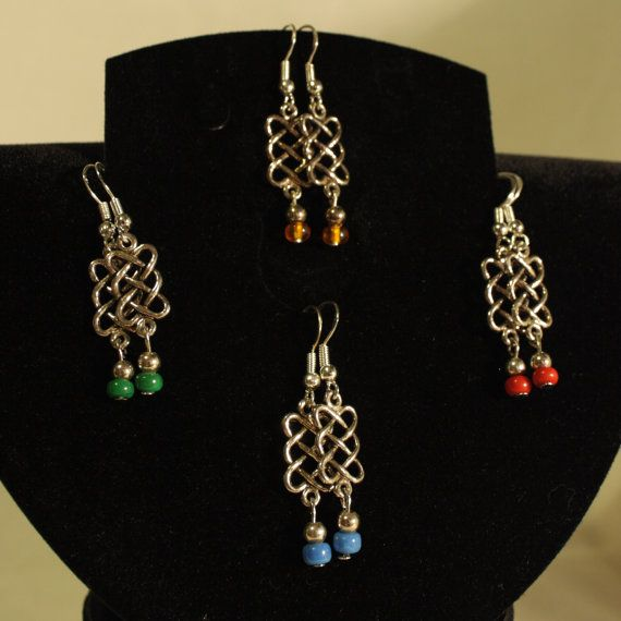 Celtic Revival #Upcycled #Earrings *FREE UK Delivery* Only £3.50. Perfect #SecretSanta Gift! http://etsy.me/1vgFuaY