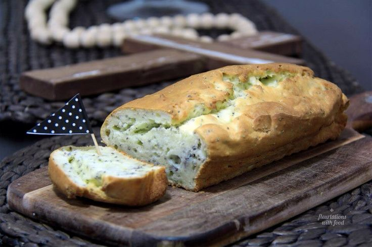 Gluten Free, Lactose Free Chia Bread - Fleurtations with Food
