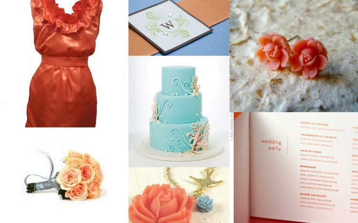 Coral And Teal Wedding Invitations: 1000+ Images About Coral/Teal Wedding On Pinterest