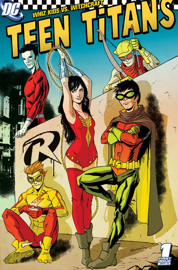 Teen Titans by Tim Seeley