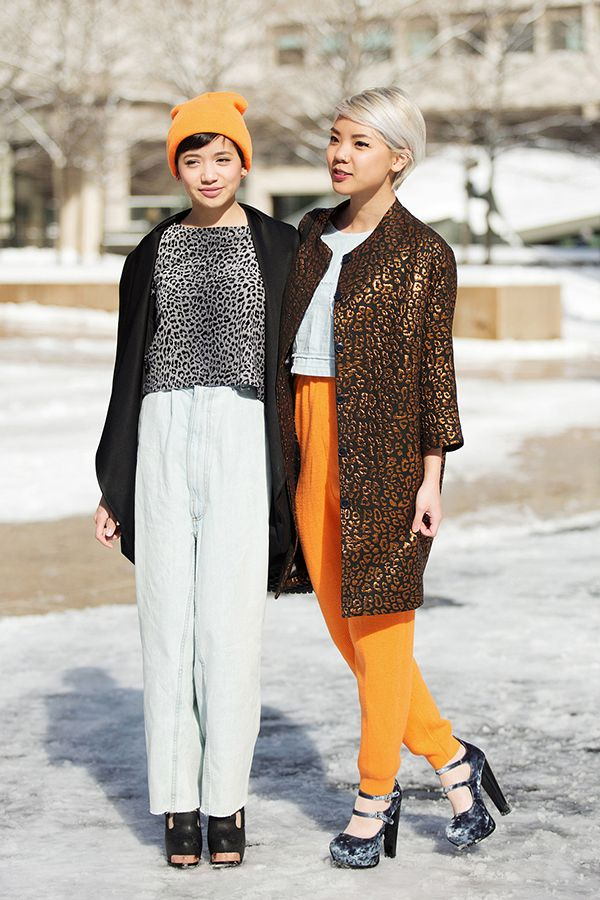 Friends who style together, stay together! Photo by Mark Iantosca.