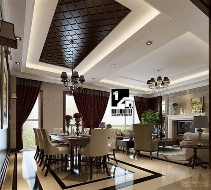 Decorating Contemporary Home Interior Design Ideas Modern: Cute Luxury Hall Dining Room Attractive Design Luxury Hall