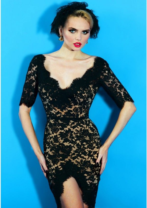 Love Never Ends - a precious Solstiss lace dress by Bien Savvy