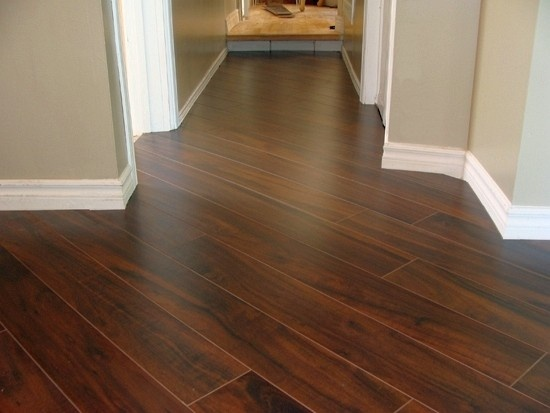 Laminated Planks Dark Walnut Diagonal 45 176 Pattern