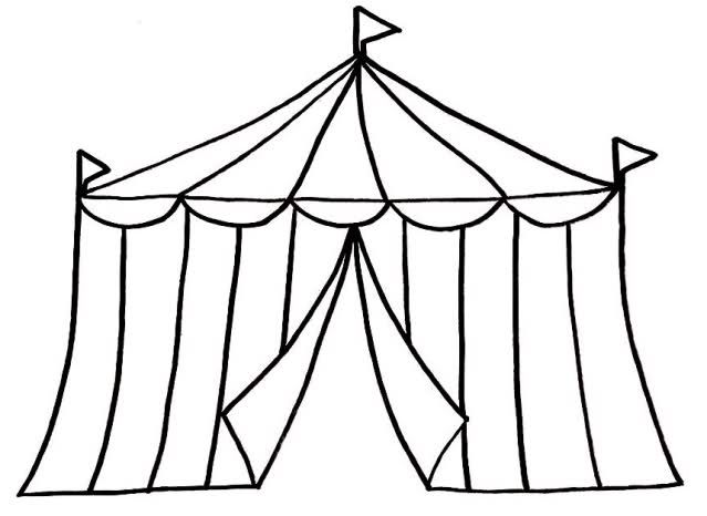 Circus Tent Clipart Black And White Clipart Panda Free Clipart Images Free Clip Art Circus Tent Craft Circus Tent Drawing