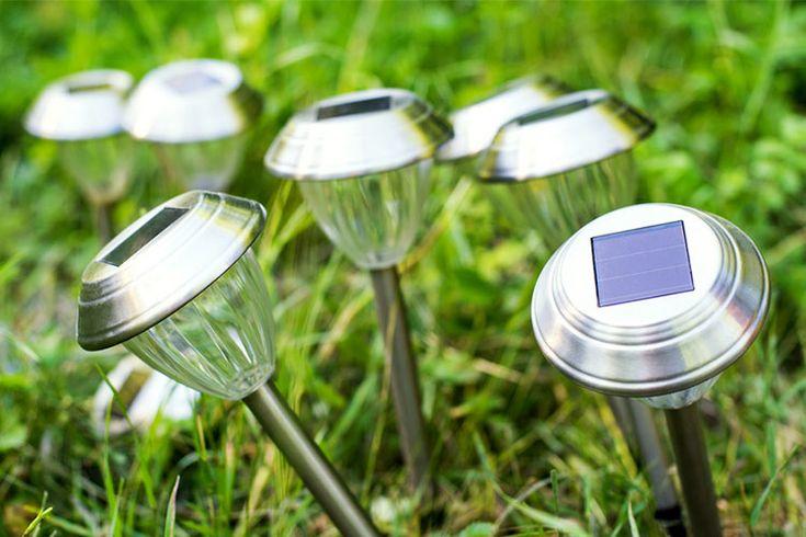 1000 id es propos de clairage solaire ext rieur sur for Luminaire pour jardin