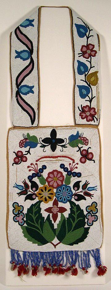 Ojibwe beadwork
