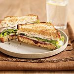 Turkey Sandwich With Spicy Cranberry Spread Recipe | MyRecipes.com