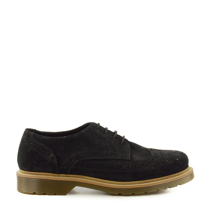 Zwarte derby brogues
