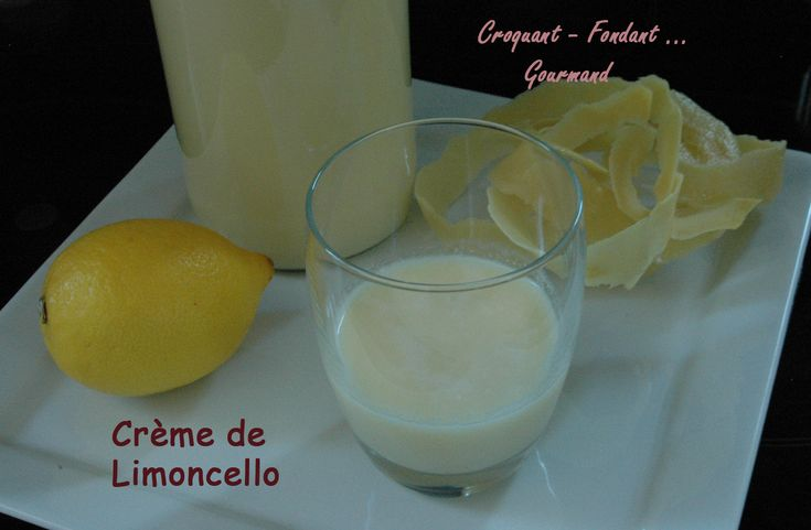 how to drink limoncello cream