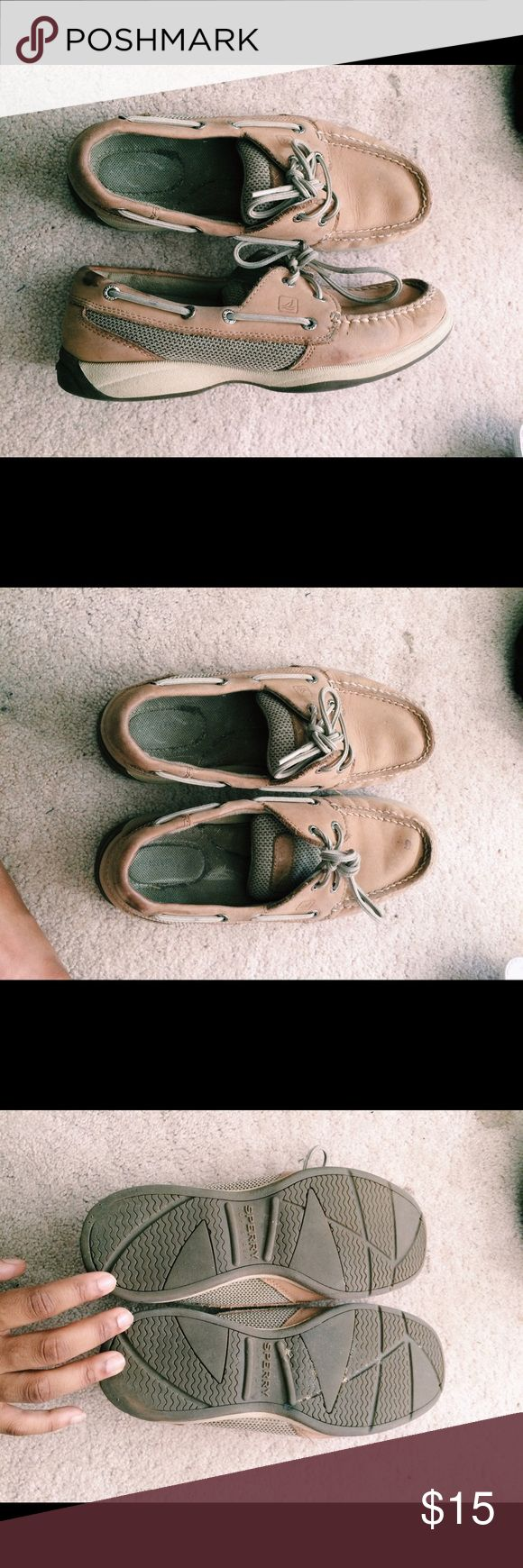 Original Sperry Topsider Boat Shoes Original Sperry Topsiders || Size 7 || Have been loved and worn many times, but still have a lot of life left in them. Sperry Top-Sider Shoes