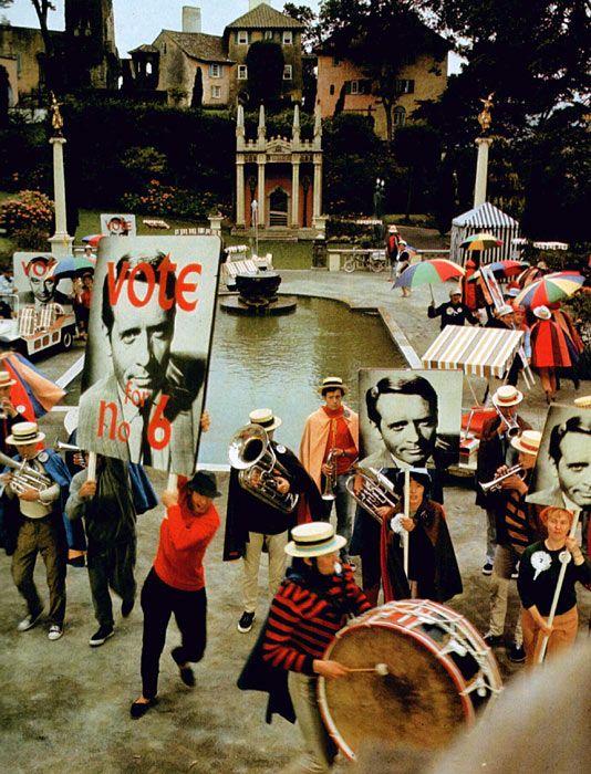 "Shooting ""The Prisoner"", 1967 | Retronaut"