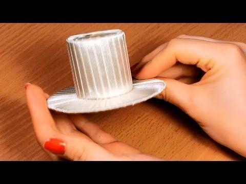 ▶ Как сделать шляпку своими руками? / Мастер Класс / Основа для Канзаши - YouTube