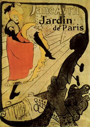 Art Nouveau poster by Toulouse Lautrec.  One of the first posters I owned.