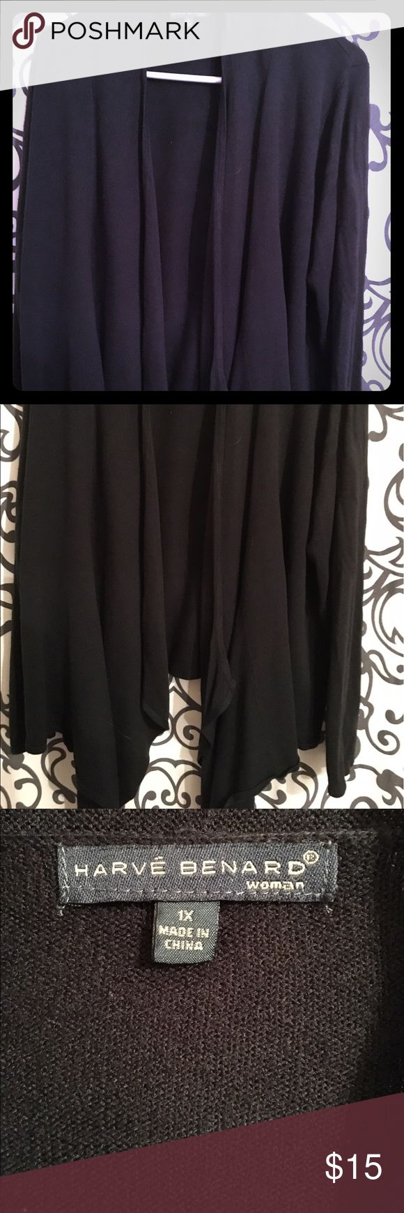 Harve Bernard Shrug 🌺Like New 🌺 Beautiful soft warm material bought this piece at TJ max I used it a few times it's really pretty on . Harve Benard Sweaters Shrugs & Ponchos