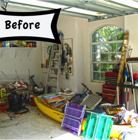 Tips On How To Organize The Garage!