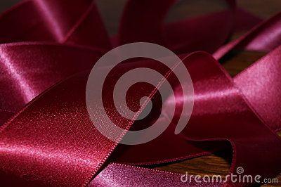 Abstract model of silk ribbon