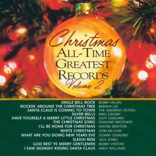 Time Life Treasury Of Christmas.The Time Life Treasury For Christmas Disc 2 Songs Cried