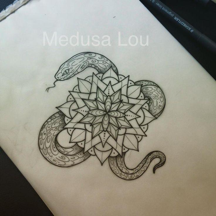 wagga snake mandala - photo#1