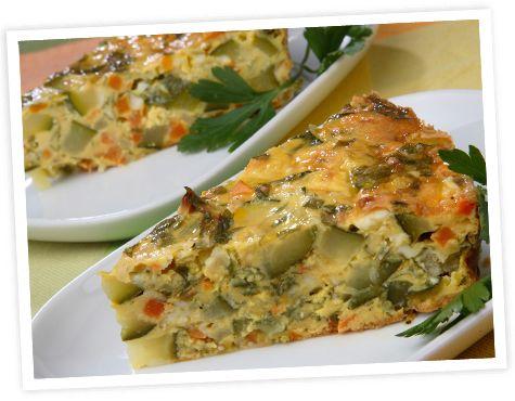 Gluten Free Vegetable Slice | Healthy & Gluten Free Recipes