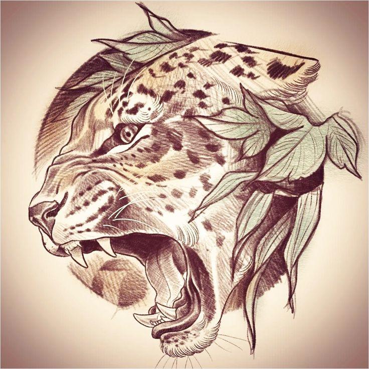 тому это лучшие тату картинки животных даёт