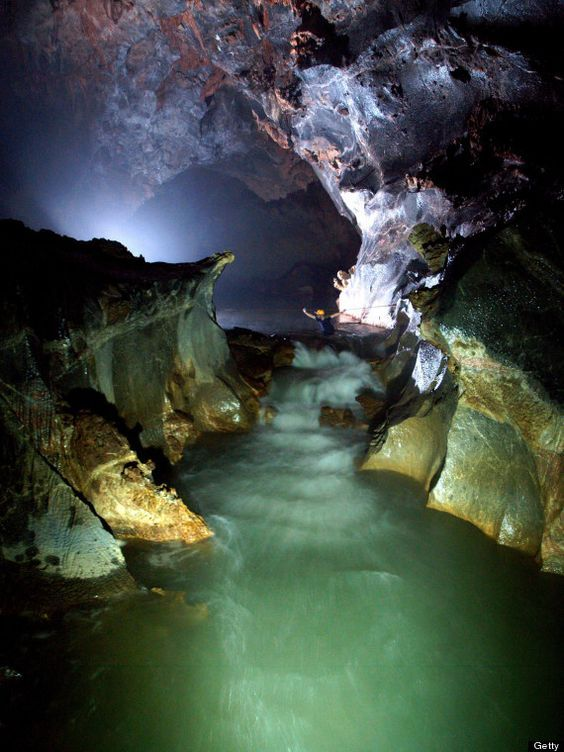 Dive into the depths of mesmerizing Son Doong cave in Vietnam.
