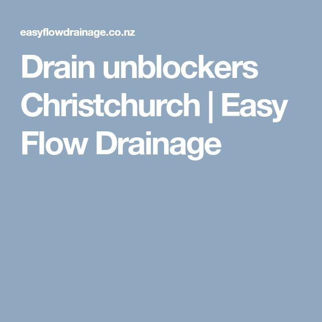 Drain unblockers Christchurch   Easy Flow Drainage