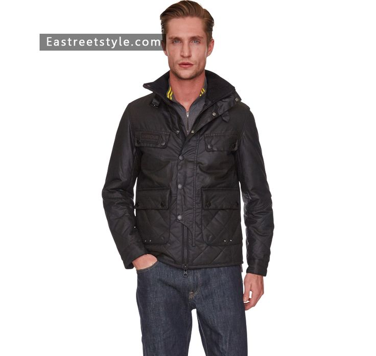 Men Barbour Trail Quilted Jacket at www.eastreetstyle.com #Barbour Jackets Sale