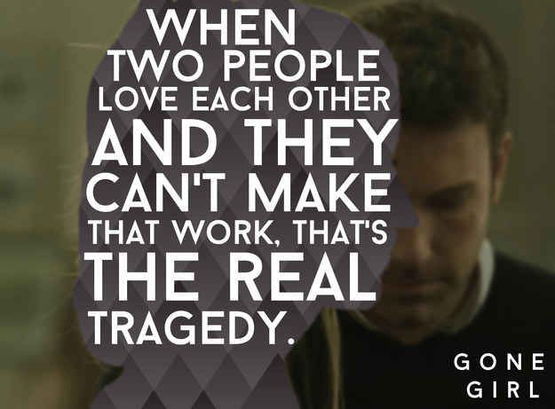Image result for gone girl movie quotes