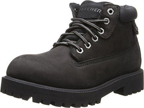 Skechers Men's Verdict Lace Up Utility Boot Black 9 M US - http://authenticboots.com/skechers-mens-verdict-lace-up-utility-boot-black-9-m-us/