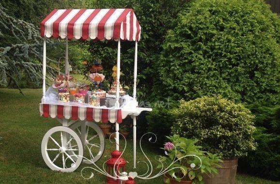 candy bar lindo carrito dulcero - Buscar con Google