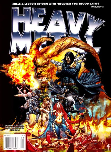 Heavy Metal Magazine (Volume) - Comic Vine