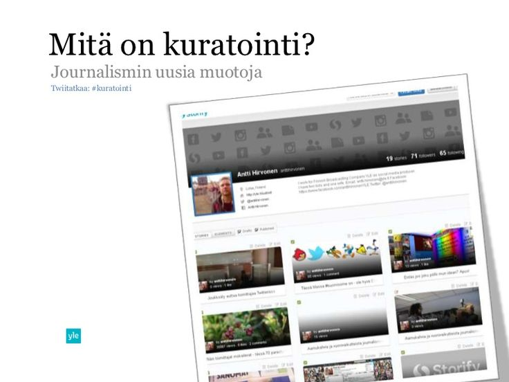 mita-on-kuratointi by Antti Hirvonen via Slideshare