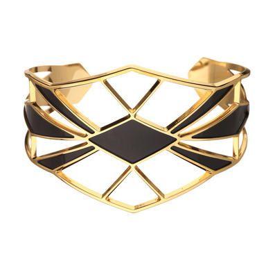 Manchette dorée Palais Royal Doré Anne Thomas prix promo Bijoux Monshowroom 95,00 €