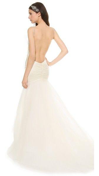 Katie May Вечернее платье Charleston с низким вырезом на спине
