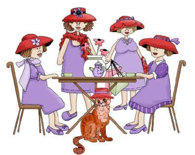 In honor of my sister in law. She has a lot of fun witb her girls. The Red Hat Ladies