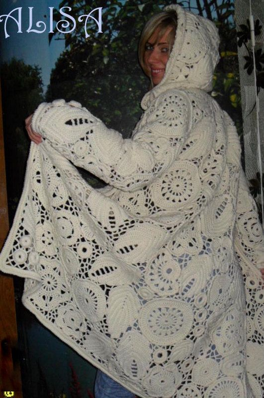 Coat Frosty by AlisaSonya on Etsy