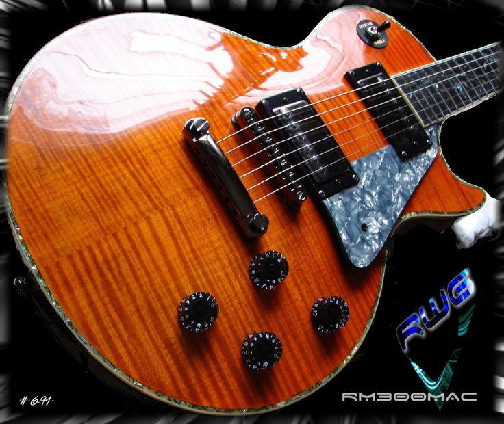 RWG - Bill MacKechnie Signature Guitar RM300 MAC TRANS BROWN FM MACKECHNIE SERIES #6-94