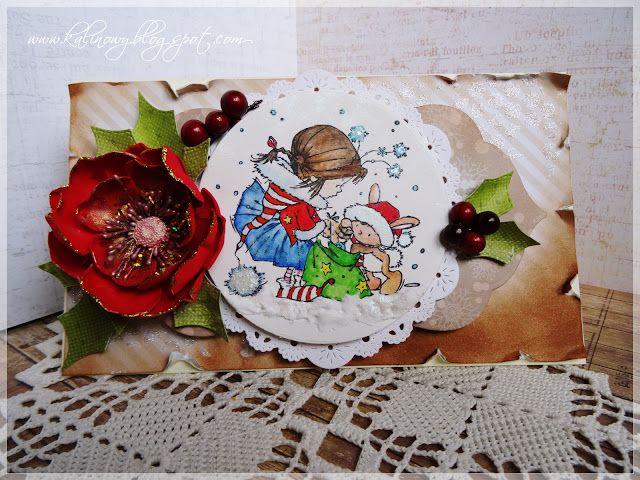 Mój kreatywny świat: Christmas card