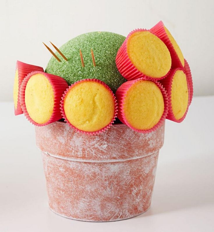 DIY Geschenkideen für die beste Freundin cupcake-blumenstrauß-selber-machen