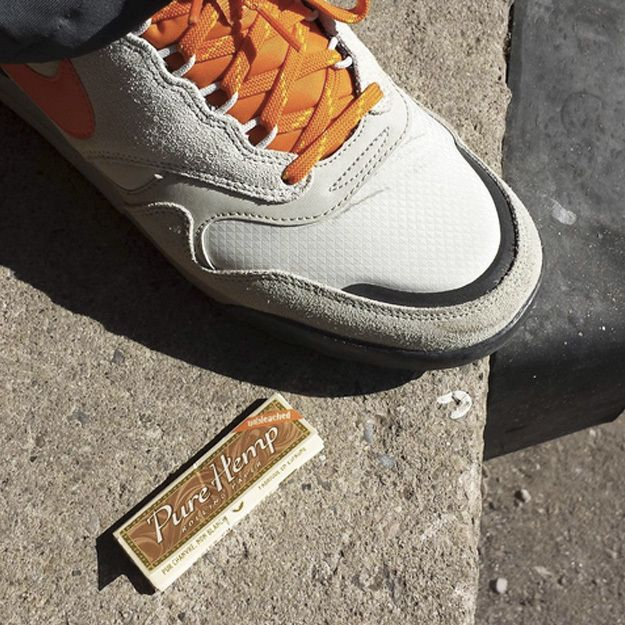 You Know You Are Dedicated When Your Kicks Match Your #PureHemp Unbleached Rolling Papers. #RollYourOwn #Since1879