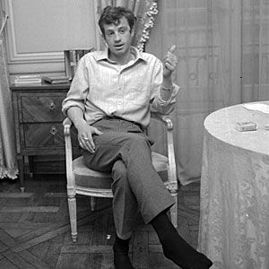 Jean-Paul Belmondo... Because he proved that the best way to look effortless was to put a little work into it.