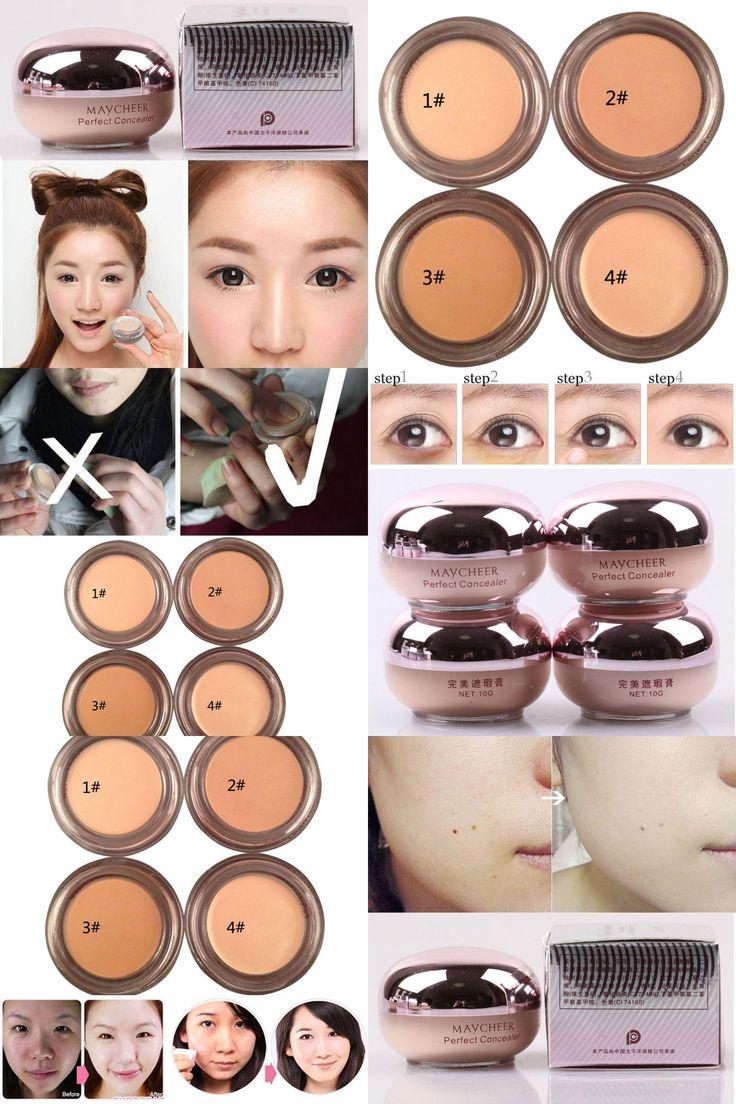 [Visit to Buy] Natural Concealer Camouflage Cream Makeup Cream Camouflage Eye bag scars M36 JL46 TF #Advertisement