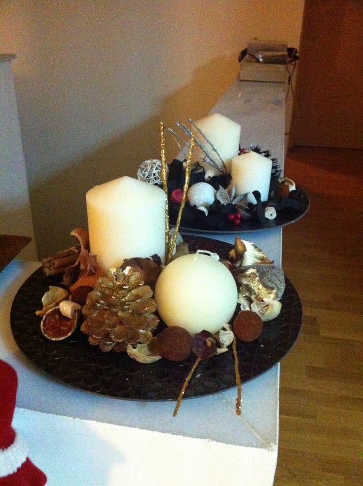 Handmade Christmas candles vol2