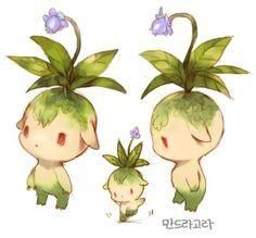 Pure_heart| It's such a cutie! I wish magic was real, just so I could: 1. see a motherf&#%ing dragon; 2. make friends with any fantasy race and user of magic; and 3. grow this little guy! Like the mandrake, but hopefully with less screaming, so more like Pikmin, but possibly bigger.