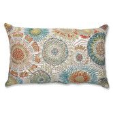 Found it at Wayfair - Maggie Mae Aqua Rectangular Throw Pillow