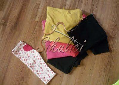 Elasťáky ze starých triček      Paní Kateřina Jirásková, nafotila další návod, tentokrát na výrobu elasťáčků.Potřebujeme:Stará trička a jedny elásťáčky jako předlohu Postup:1. Nachystáme si stará trička a jedny elásťáčky jako předlohu2 ...
